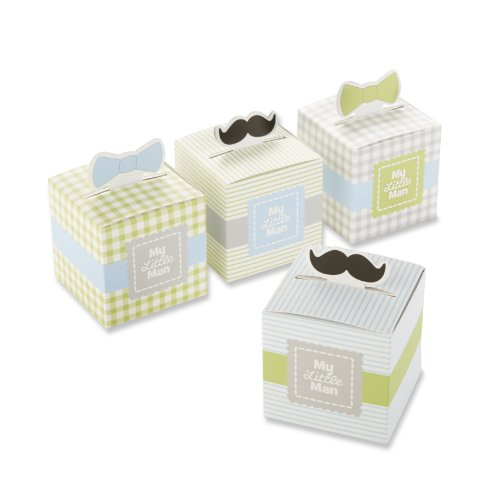 Kate Aspen My Little Man Favor Box (Set of 24)