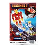 Iron Man 2 Rare Mega Bloks 1973 Mark Iv Aerial Attack 42Pc Set