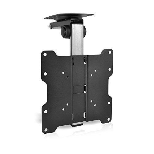 Pyle PCMTV25 17-Inch to 37-Inch Universal Folding Hide-Away TV Ceiling Mount Bracket Fits