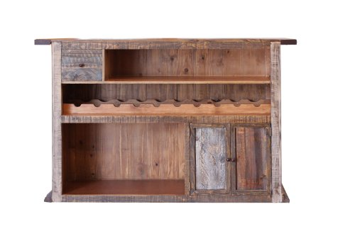 Montana Woodworks Glacier Country Collection Bar with Foot Rail north of montana