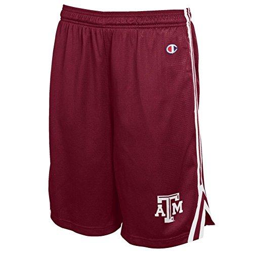 Texas A&M Mens Attack Shorts Maroon - L - Maroon
