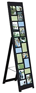 Nexxt PN01908-1 Nisse Series Floor Standing Black Photo Collage Easel, 64 by 14 by 19-Inch