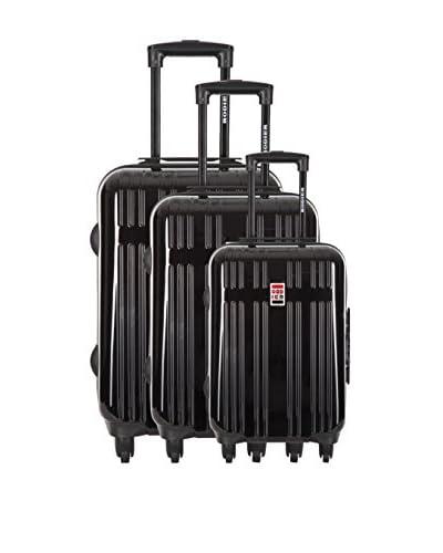 RODIER Set de 3 trolleys rígidos Ustica