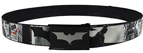 Batman DC Comics Begins Cityscape cintura in tessuto grigio