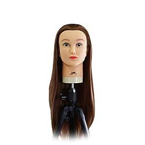 Celebrity Lexi Cosmetology Protein Fiber Hair Cutting Manikin, 26-28 Inch