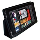 Original I-Boyz Amazon Kindle FIRE Leather Case Cover and Flip Stand Wallet Plus FREE Capacitive Stylus Penby I-Boyz