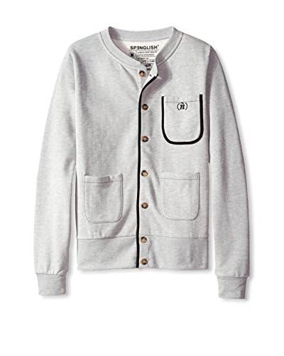 Spenglish Men's Button Front Cardigan