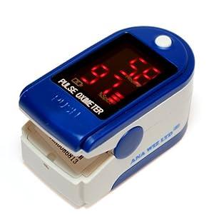 Finger Pulse Oximeter - BLUE