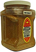 Marshalls Creek Spices Family Size Paprika Lemon and Lime Spice Bouquet No Salt Seasoning 24 Ounce