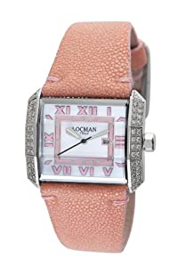 Locman Women's 232MOPPKDC Otto Collection steel Watch from Locman