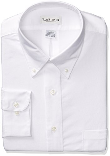 Van Heusen Men's Long Sleeve Oxford Dress Shirt