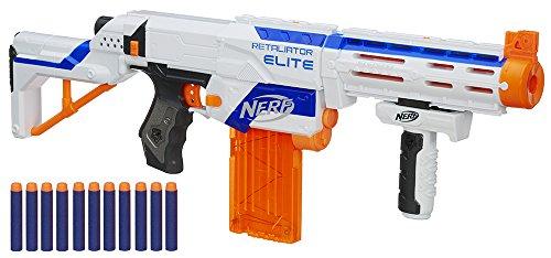 Nerf - Retaliator Arma con Caricatore Rimovibile