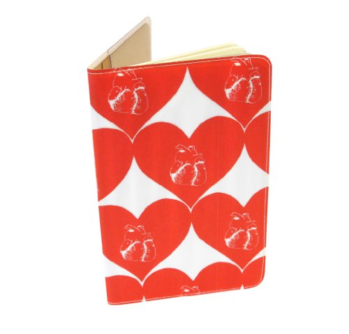 Beating Hearts Moleskine Notebook Cover