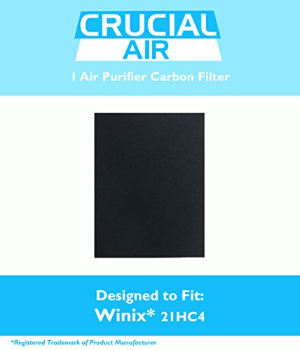 Winix-Compatible 115115 Carbon Filter, Fits PlasmaWave Series, Designed & Engineered by Crucial Air