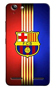 Omnam Printed Back Cover Flag FCB for Lenovo Vibe K5 Plus
