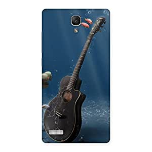 Ajay Enterprises Guitar Firsh Back Case Cover for Redmi Note