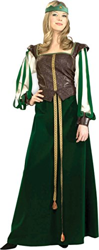 Morris Costumes Women's MAID MARION ADULT, SMALL 2-6
