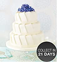 Ruffle Fruit Wedding Cake