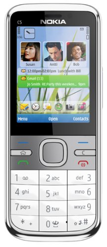 Refurbished Nokia C5 (5MP) Brand New With Full Accessories ( WITHOUT BOX )