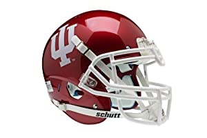 NCAA Indiana Hoosiers Authentic XP Football Helmet by Schutt