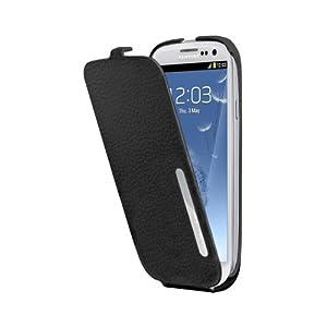 Anymode ANLT088KBK - Funda con tapa para Samsung Galaxy S3, negro
