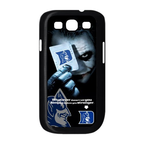 NCAA Duke Blue Devils With Joker Poker Slim Fit Samsung Galaxy S3 I9300/I9308/I939 Hard Plastic Durable Back Case Cover At customcasestore (New Jersey Devils Hard Hat compare prices)