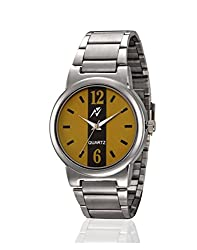 Yepme Alpez Mens Watch - Yellow/Silver -- YPMWATCH2428