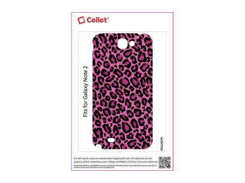 Cellet Pink Leopard Design Skin For Galaxy Note 2