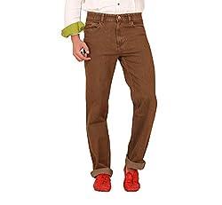 Carrie Men's Regular Fit Jeans (CJ_B806_Brown_32)