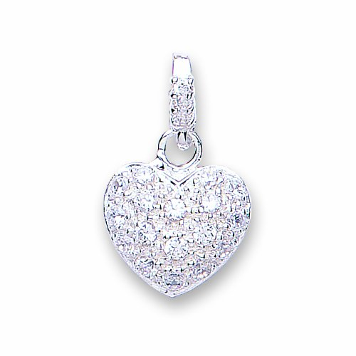 Jo For Girls Drop Heart Set with Multi Cubic Zirconia from a Cubic Zirconia Top