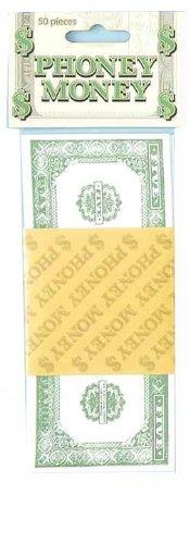 Forum Novelties Phoney Play Money $1 Bills (50-Pack)