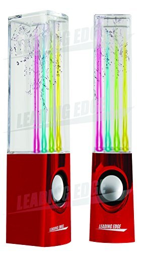 Leading Edge - Water Dancing Speakers (Red) (Leading Edge Speakers compare prices)