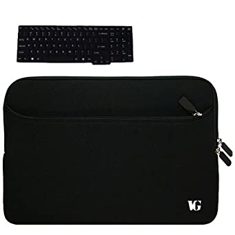 X5DC + Black Silicone Keyboard Skin Cover for ASUS Laptop: Clothing