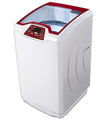 Godrej WTEon650PF Fully-automatic Top-loading Washing Machine (6.5 Kg, Metallic Red & Grey)