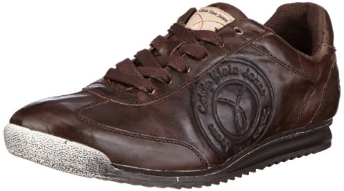 Calvin Klein Jeans MAXIMIUS DISTRESSED CALF Low Mens Brown Braun (DBN) Size: 7 (41 EU)