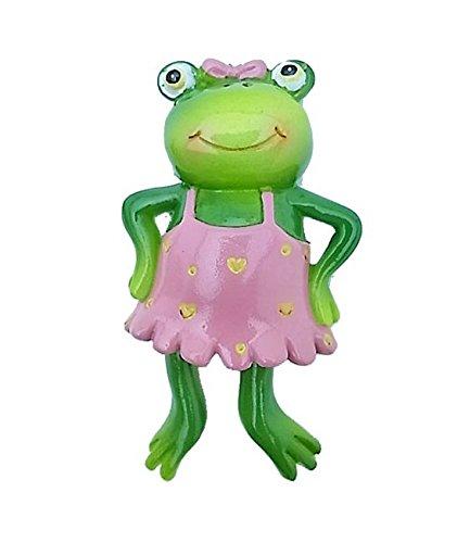 Japanese Fashionable Frog Girl Mascot Refrigerator Magnet Casual Dress Ver. Handmade Ceramics Decorative Figure (Amber Mosaic Gems compare prices)