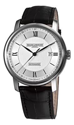 Baume & Mercier Men's 8868 Classima Executives Silver Guilloche Dial Watch by Baume & Mercier