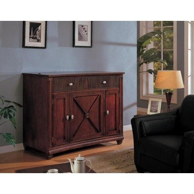 Cheap Lewisbury 56″ TV Stand with Lift Rack in Warm Walnut (LT-20023WA-TC20)