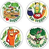 Health and Nutrition Eat Your Veggies Stickers
