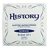 HISTORY HEGSN011 エレキギター弦 10本セット バラ弦 (ヒストリー)