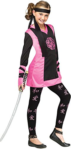 Girls - Dragon Ninja Child Costume 8-10 Halloween Costume