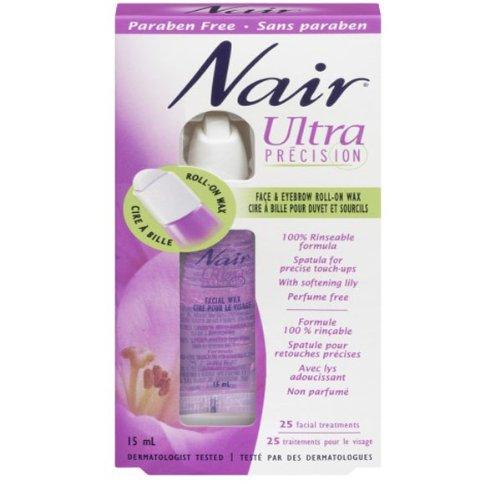 nair-ultra-precision-face-and-eyebrow-wax-roll-15-mlfacial-treatments-25-by-nair