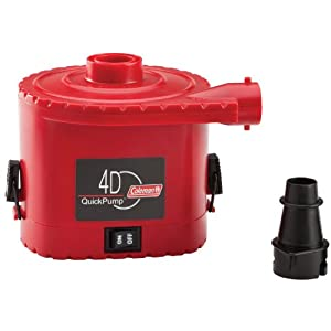 Buy Coleman 4 D Battery QuickPump by Coleman