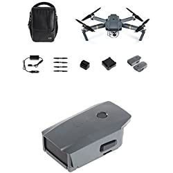 DJI Mavic Pro Fly More Combo grau + DJI CP.PT.000587 Mavic Intelligent Flight Battery grau