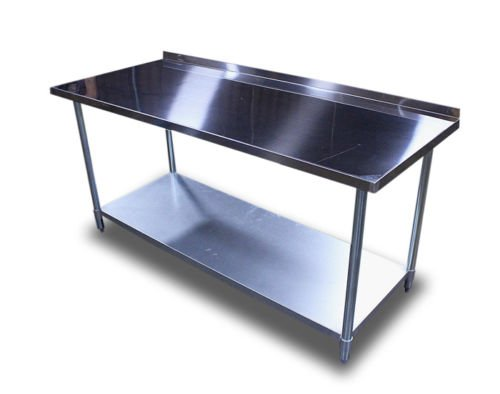 New Commercial Restaurant Stainless Steel Prep Work Table 2