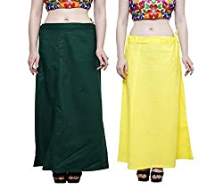 COMBO OF PETTICOATS FOR WOMENS PACK OF 2 BY JUST CLIKK