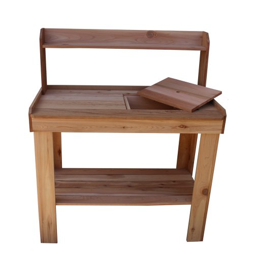 Outdoor Living Today Western Red Cedar Potting Bench with Removable Sink (Western Red Cedar Potting Bench compare prices)