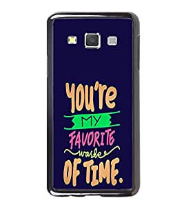 Printvisa Ultra Love Quote 2D Hard Polycarbonate Designer Back Case Cover for Samsung Galaxy A7