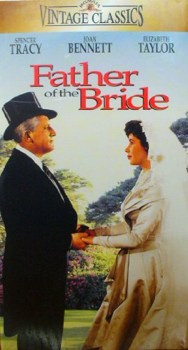 FATHER OF THE BRIDE - SPENCER TRACY, JOAN BENNETT, ELIZABETH TAYLOR