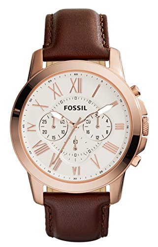 Fossil Grant Chronograph Beige Dial Men s Watch - FS4991I Buy Fossil Grant  Chronograph Beige Dial Men s 665a498459